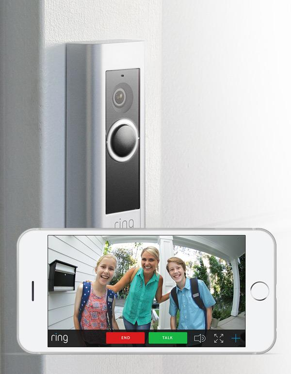 Ring Video Doorbell Pro with Chime Pro Bundle
