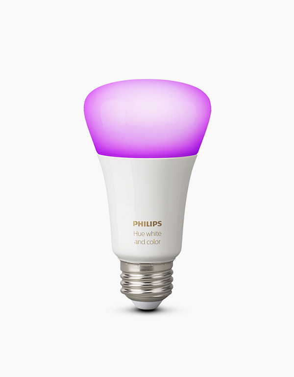 Philips Hue White & Colour Ambiance A19 Bulb w...