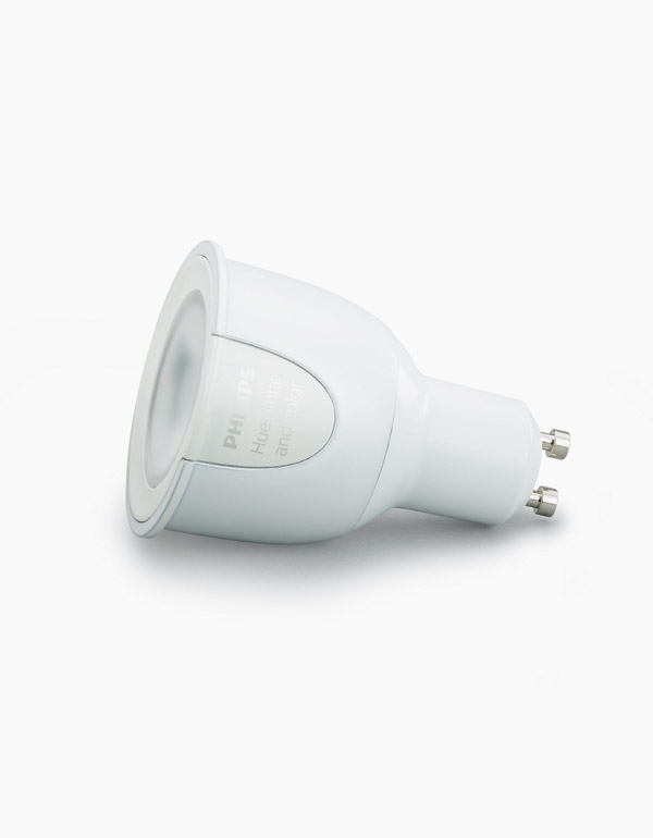 Philips Hue White & Colour Ambiance GU10 Bulb