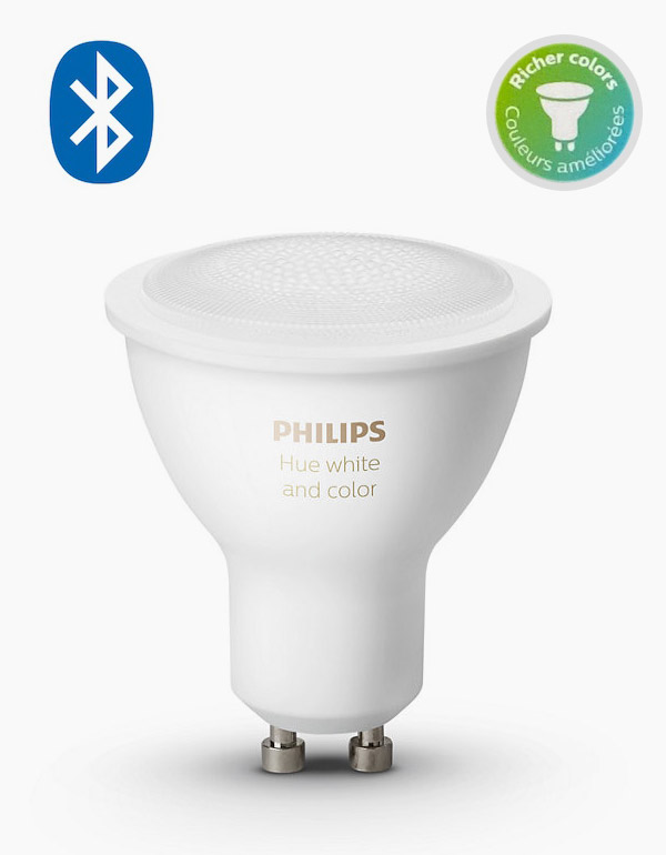 Philips Hue White & Colour Ambiance GU10 Bulb ...