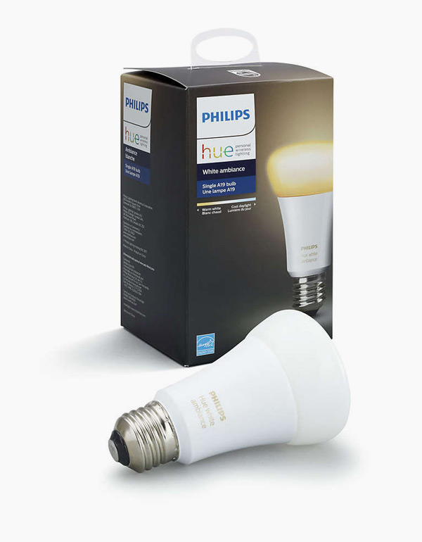 Philips Hue White Ambiance Bulb A19