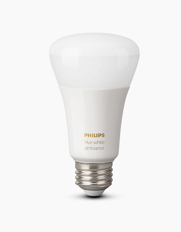 Philips Hue White Ambiance Bulb A19 with Bluetooth...