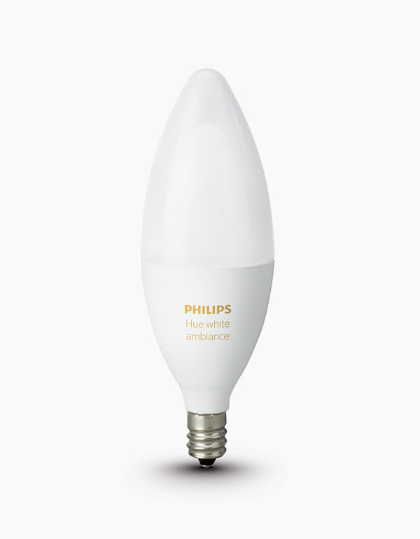 Philips Hue White Ambiance Chandelier Bulb