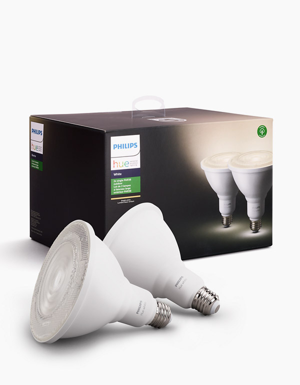 Philips Hue White PAR38 2 bulbs