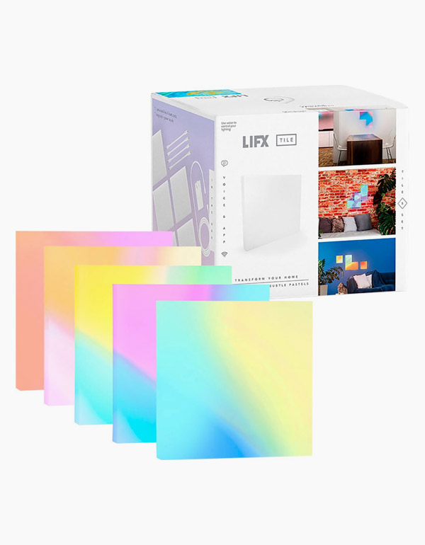 LIFX Multi-Color Wi-Fi Light 5-Tile Kit