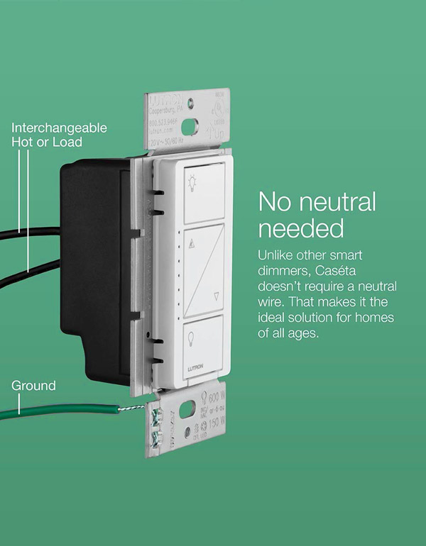 Lutron Caseta 3-Way Dimmer Kit with a Smart Bridge