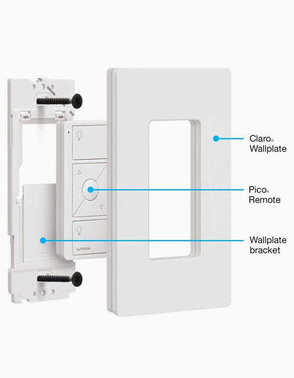 Lutron Wall-Mounting Kit with Pico Remote