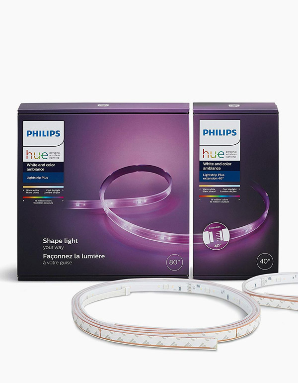 Philips Hue White and Color Ambiance LightStrip Pl...