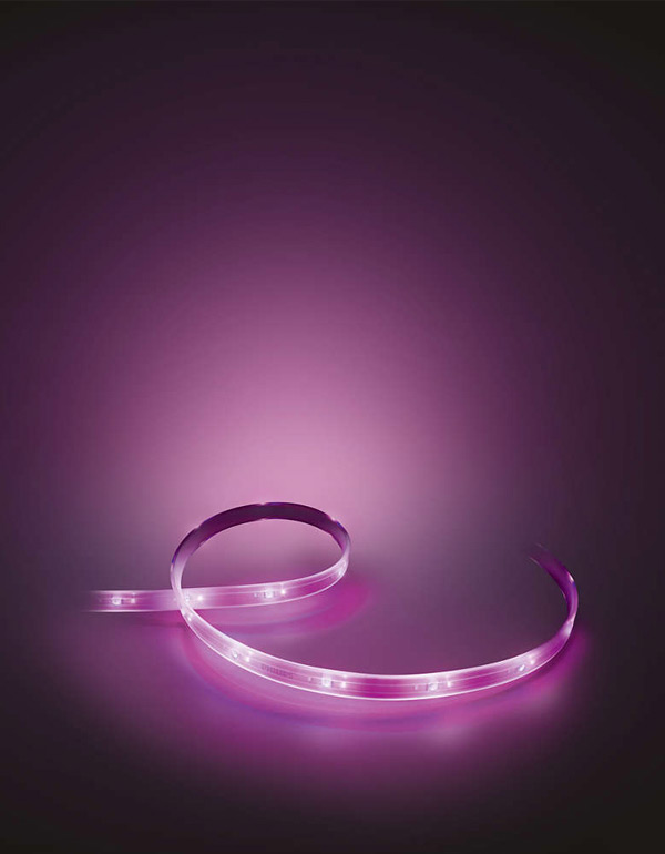 Philips Hue White and Color ambiance LightStrip Plus Extension 1 m