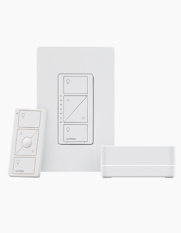 Lutron Caseta Wireless Dimmer Kit with Smart Bridg...