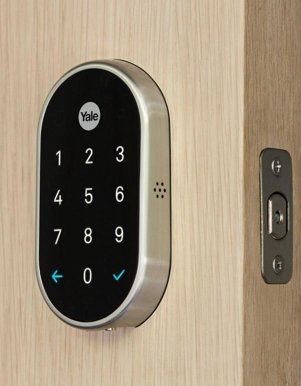 Nest x Yale Smart Lock - Satin Nickel