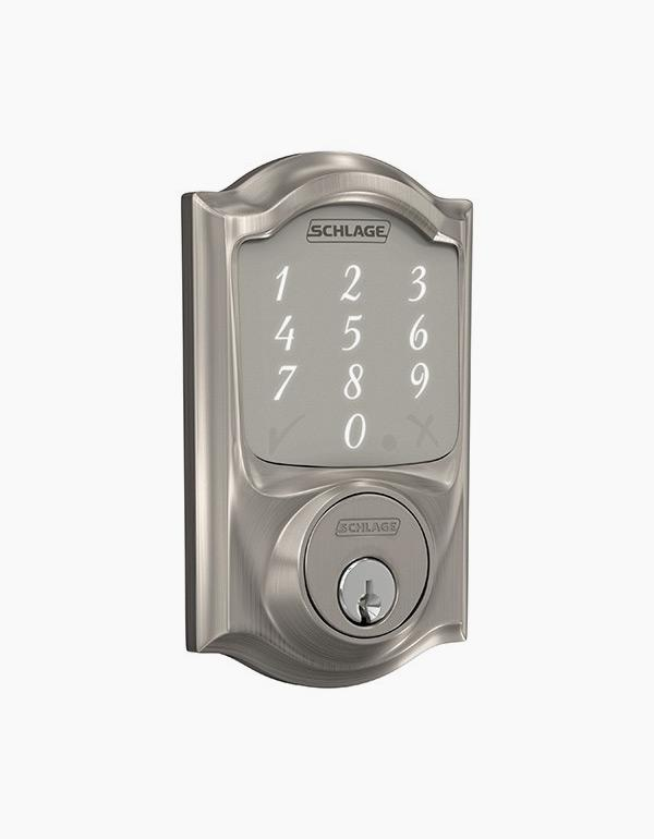 Schlage Sense™ Smart Deadbolt with Camelot trim ...