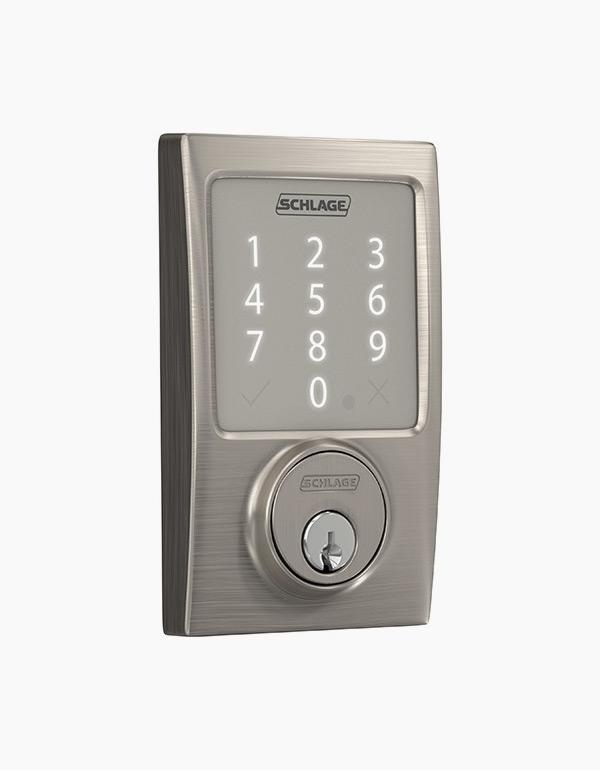 Schlage Sense™ Smart Deadbolt with Century trim ...