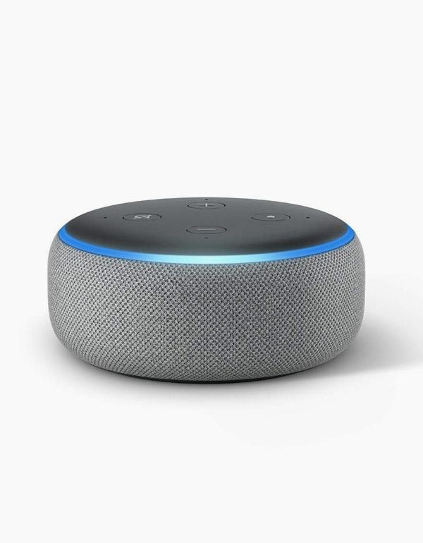 Amazon Echo Dot 3 - Heather Gray